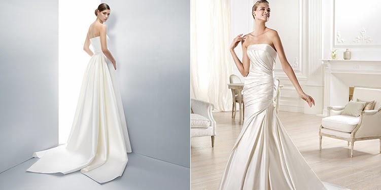 53b71a79a TEJIDOS para vestidos de novia - Ideas en Polvo