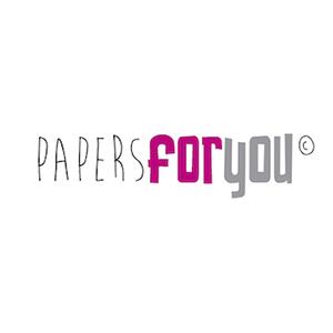 Logo marca Papersforyou